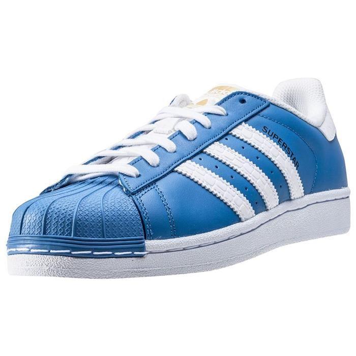 adidas superstar homme bleu clair
