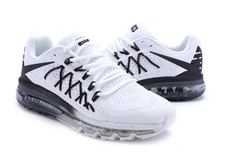 meilleur site web 93ec4 79439 air max 2015 blanche et noir