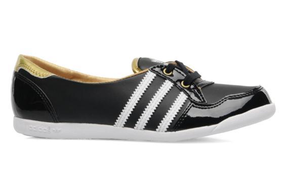 ballerine adidas femme noir et or