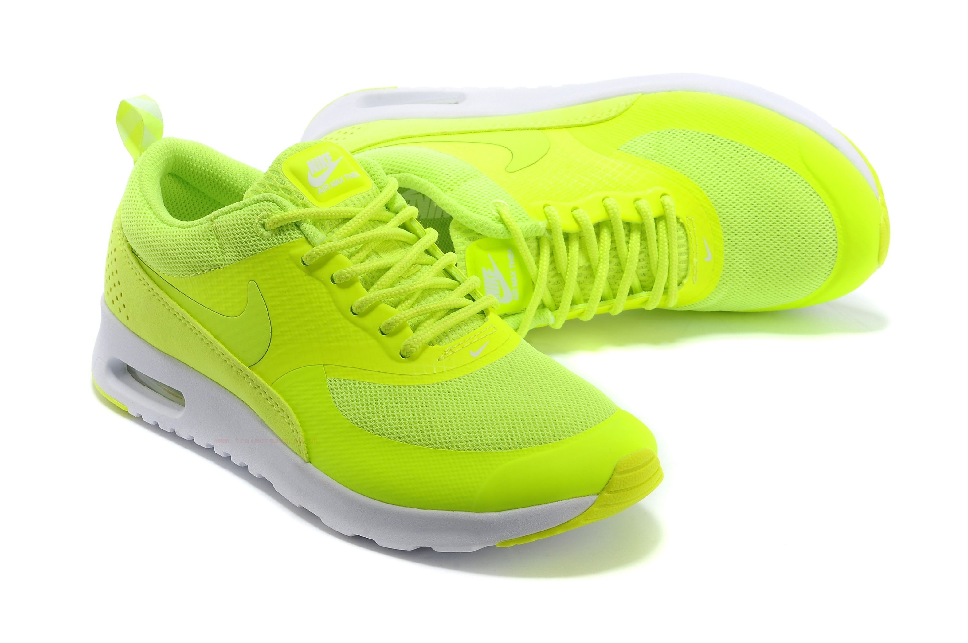 nike air max thea jaune fluo